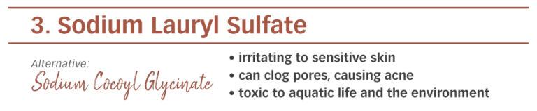 ingredients, skin, skincare, skin tips, chemicals, skincare products, SLS, sodium lauryl sulfate